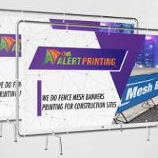 alert printing mesh banners