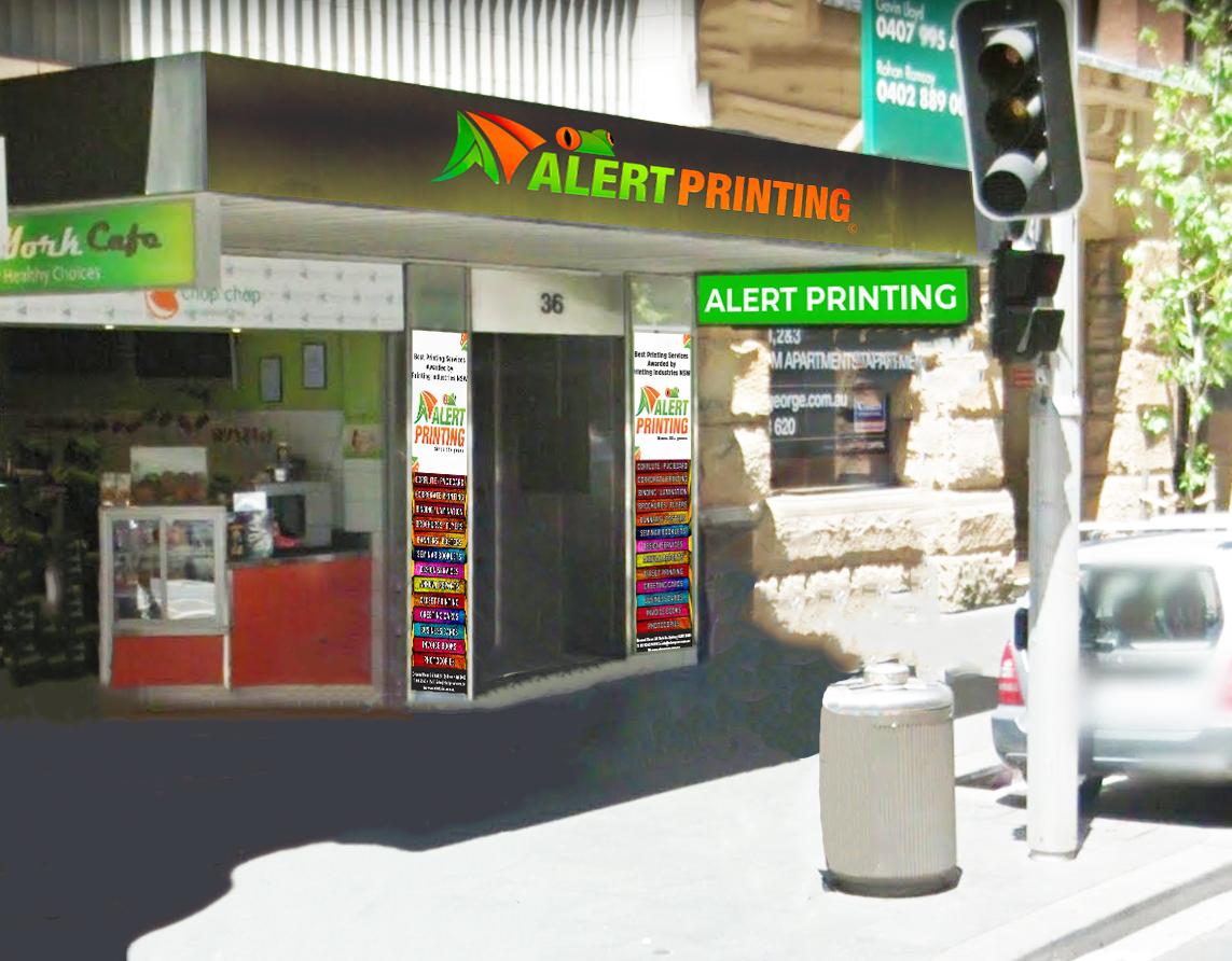 alert printing York Street