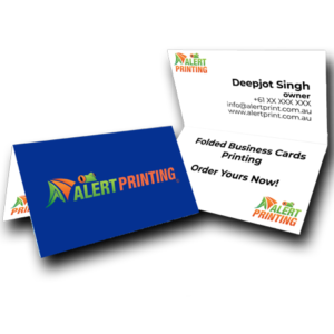 alert printing business card printing