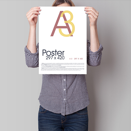 A3size poster printing sydney