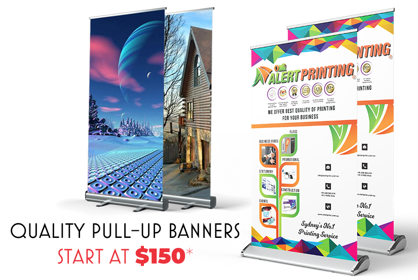 pull-up banners printing sydney