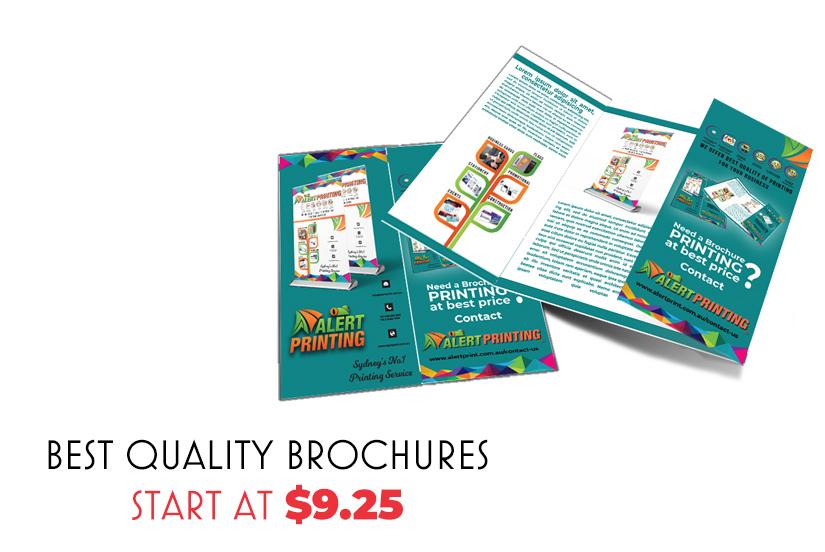brochures printing sydney