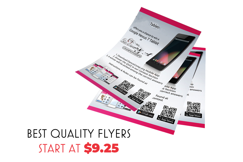 flyer printing sydney