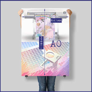 A0 size printing posters